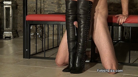 Casadei boot fucking slave part 2
