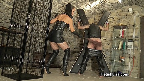 Flogged leather pervert part 2
