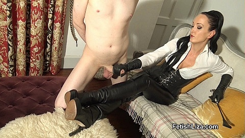 Ruined orgasm for My boot slave