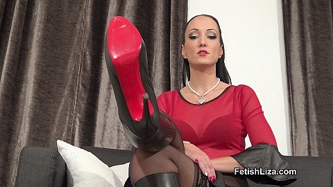Worship My Louboutin boots