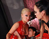 Coco submits to lilly and liza  lilly spider and i play with coco de mal. Lilly Spider and I play with Coco de Mal.